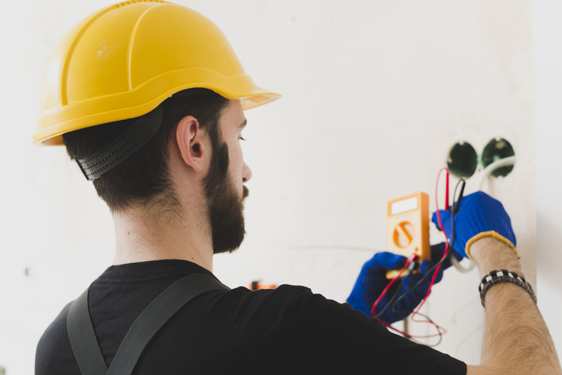 Conducting Electric Construction Home